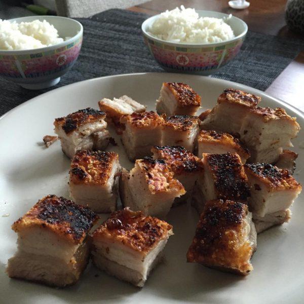 Crispy Roasted Pork Belly (Siu Yuk / Siu Gee Yuk / Sio Bak) Recipe ...